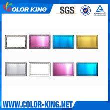 Vielen farben 0.22mm sublimation aluminimum metall visitenkarte