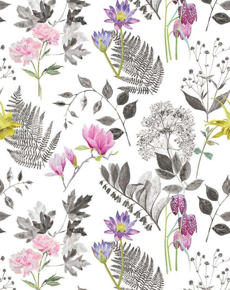 Designers Guild Mokuren fabric print Featuring #Designersguild items for my #dreambedroom