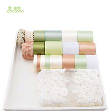 Hoge kwaliteit 20 Ontwerp Mix Licht Groen Lint Set Voor Diy Handgemaakte Cadeau Craft Verpakking Haaraccessoires Bruiloft Materialen 20…