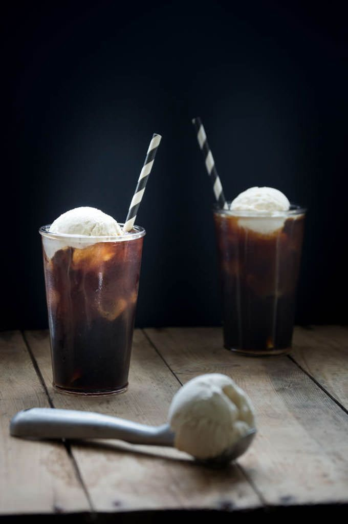 Cold Coffee Float » On A Sweet Sugar Rush
