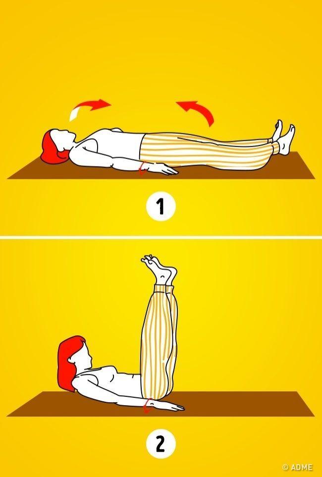 Есть огромное количество упражнений икомплексов. Но, пожалуй, один изсамых действенных— «5тибетских жемчужин». Древняя методика монахов Тибета нетолько заставит работать все мышцы, ноипоможет нормализовать работу организма. МывAdMe.ru уже попробовали упражнения иубедились: они действительно просты инеотнимают много времени.