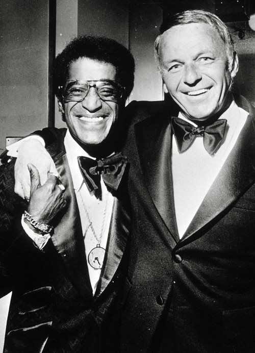 "Brothers — with Frank Sinatra. & Sammy Davis Jr. ………For more classic pictures of the 60's, 70's and 80's please visit and ""LIKE"" my Facebook page at https://www.facebook.com/pages/Roberts-World/143408802354196"