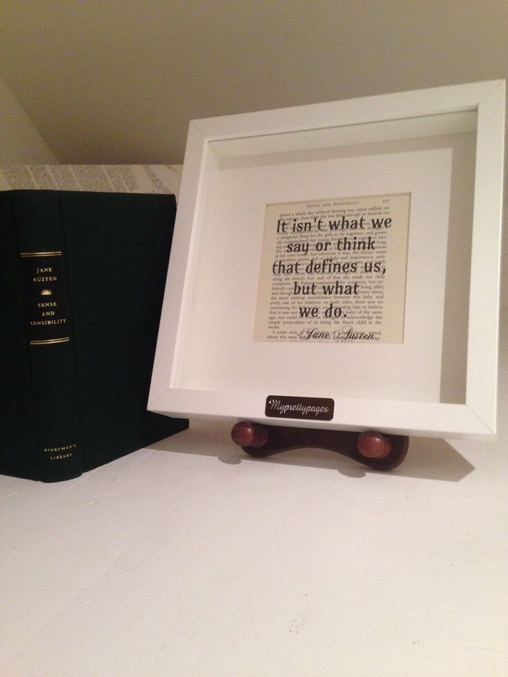 A personal favourite from my Etsy shop https://www.etsy.com/uk/listing/251576975/jane-austen-sense-and-sensibility-quote