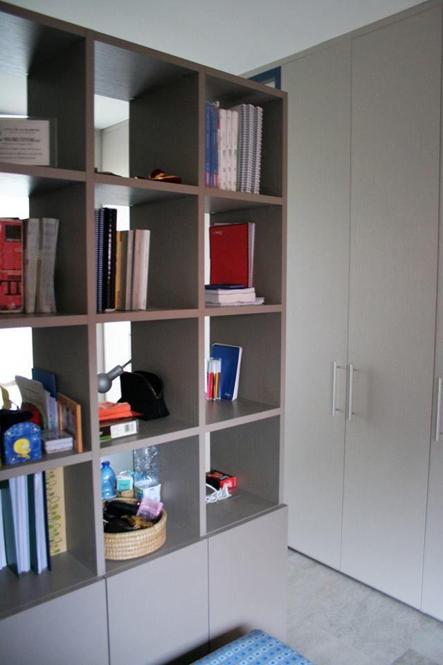 Affordable ridisegna i tuoi spazi con semprelegno una libreria eseguita su misura come parete - Parete divisoria cucina soggiorno ...