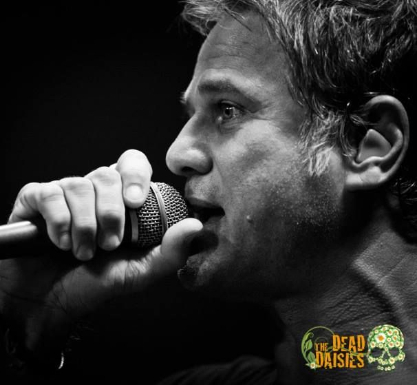 Jon Stevens of The Dead Daisies
