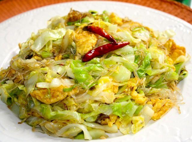 asian cabbage stir fry