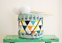 DIY drum for the boys?
