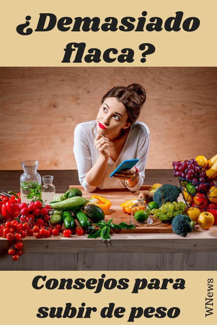 alimentos para subir de peso de manera saludable