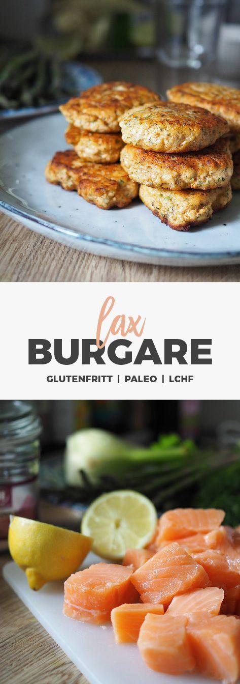 Recept: Fiskbiffar/ Laxburgare. Glutenfria / LCHF / Paleo