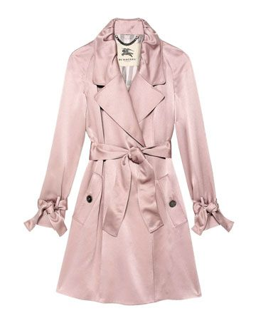 1000  images about Pink Coat on Pinterest | Wool Pink trench coat