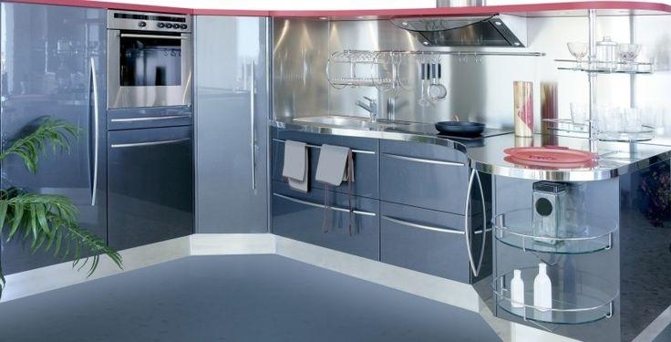 122 best images about kitchen on pinterest shaker for Efficient kitchen designs