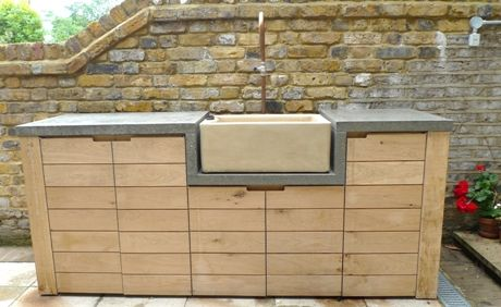 Bespoke Pieces For The Garden By Constructive Co The Great Outdoors Concrete Kitchen Interior Design Kitchen Kitchen Units
