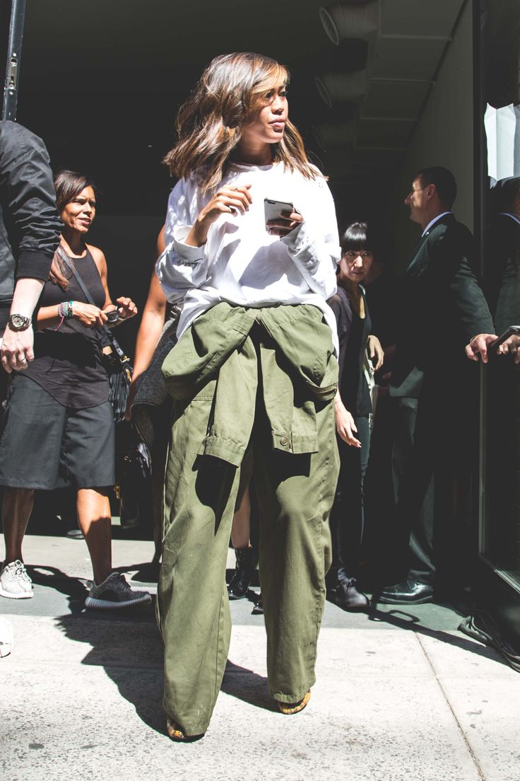 Street Style at Kanye West's Yeezy Season 2 NYFW Show | Complex