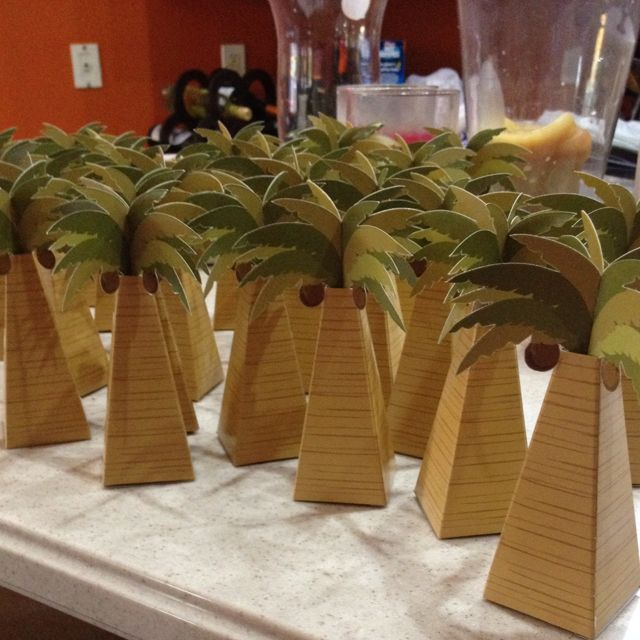 Party favors for beach themed bridal shower