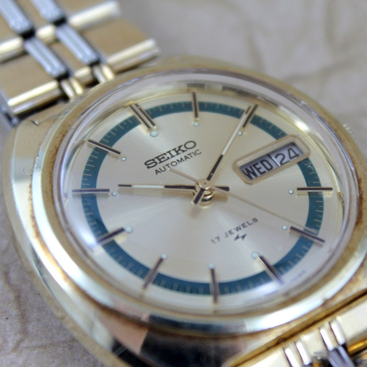Vintage Gents Seiko Automatic Movement Watch Model by ASecondTime, $299.00