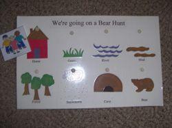 We Are Going on Bear Hunt Story Board from http://www.makinglearningfun.com