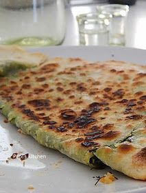 Traditional fennel pies from Crete made in Pepi's kitchen!