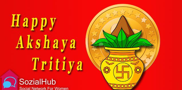 May this ‪#‎AkshayaTritiya‬ bring you prosperity and joy ‪#‎SozialHub‬
