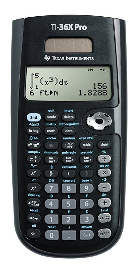 Texas instruments ti-36x pro scientific calculator   ebay.