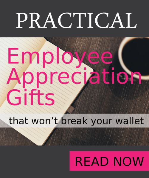 Employee Appreciation Gift Ideas #employee #appreciation #giftideas #gifts #magazine #affordable