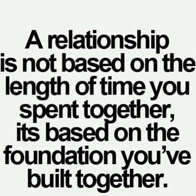 Relationship #relationship #foundation