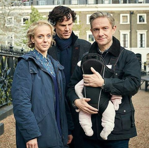 Season 4- Sherlock looks so confused. <----Okay I'm not saying I wanted Mary to die ... but ....