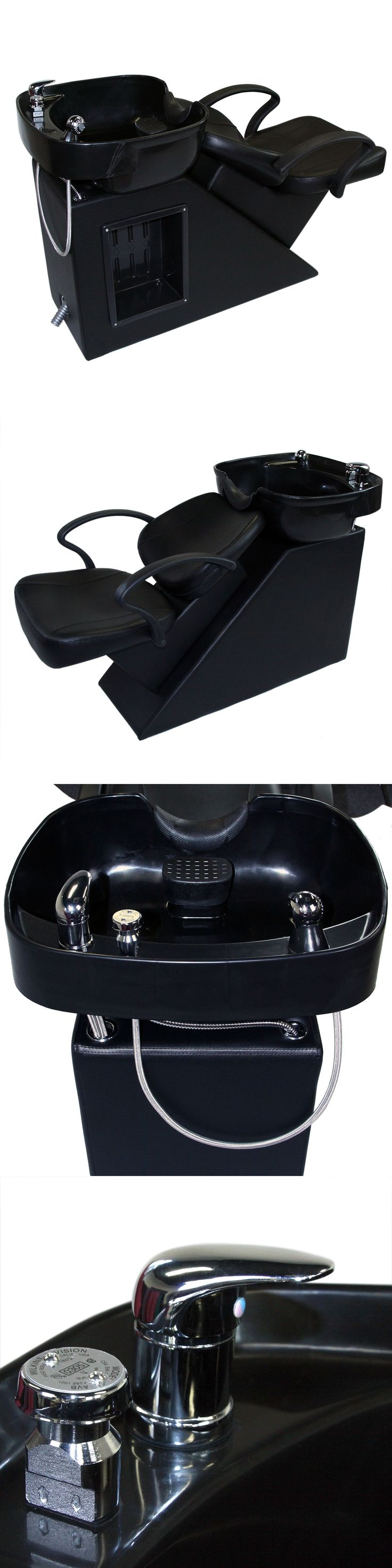 Other Salon and Spa Equipment: Bowl Barber Sink Shampoo Backwash Chair Beauty Salon Equipment Reclining Station -> BUY IT NOW ONLY: $191.5 on eBay!
