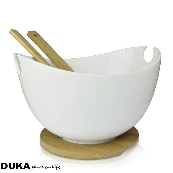 Misa do sałaty ze sztućcami 37cm-dukapolska.com-31