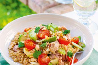 Quinoa & tuna salad