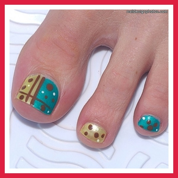toenail art designs 2011