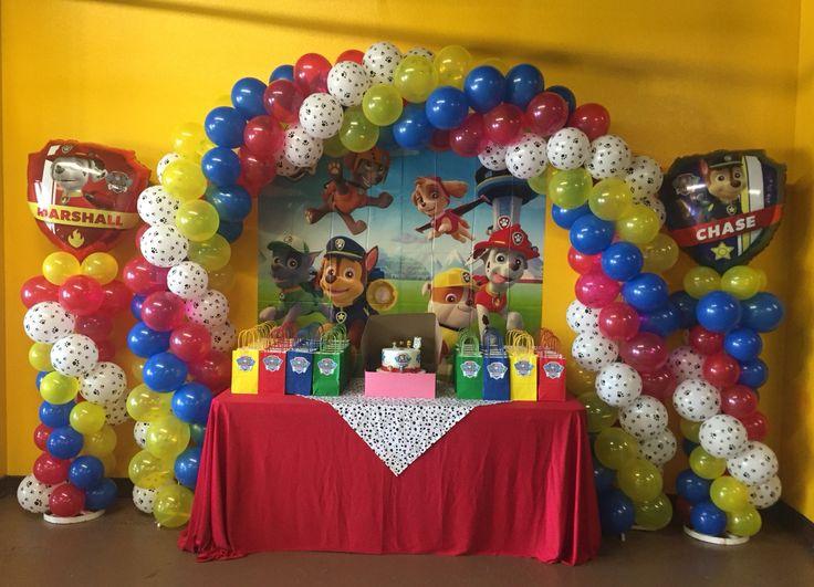 Paw patrol Balloon decor