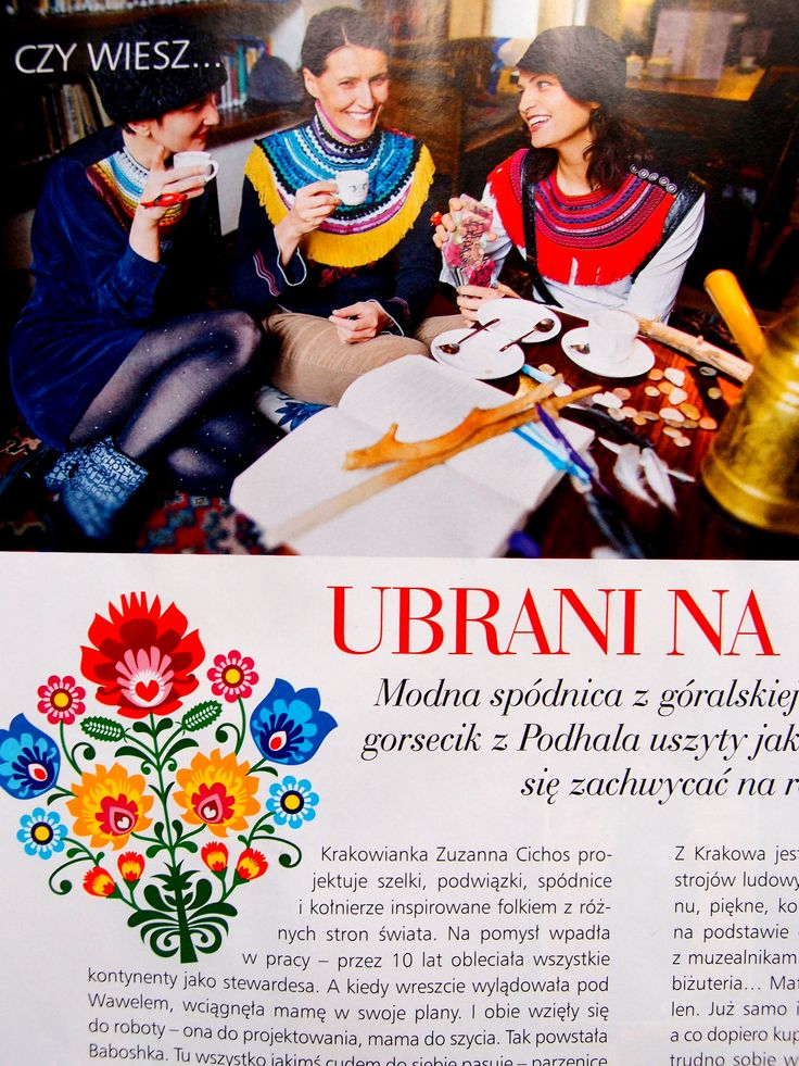 Baboshka in magazine Country Weranda