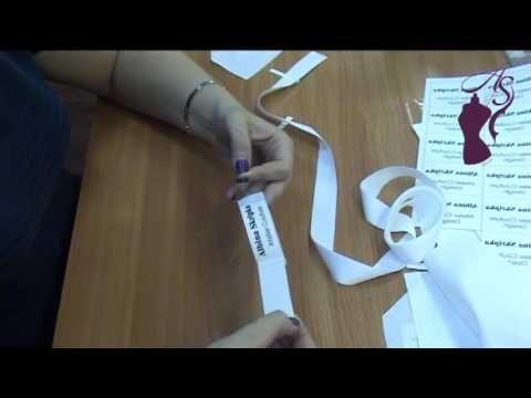 Создание бирки для изделия/D.I.Y Create tags for products - YouTube