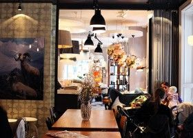 Kolonialen Café & Eske interior design - Bislett, Oslo