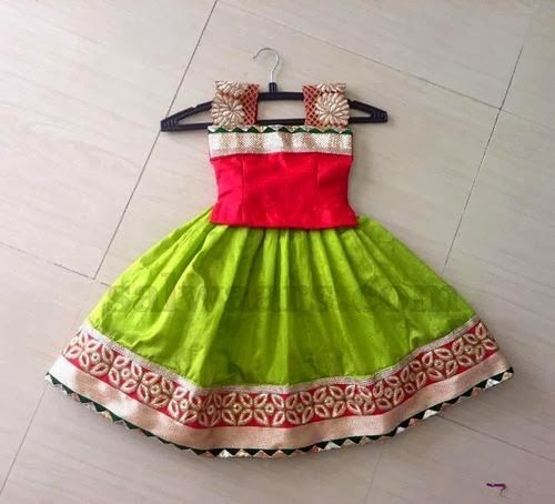 Simple and Pretty Kids Skirt