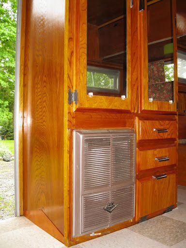 1000 Images About Vintage Trailer On Pinterest Campers Wood Interiors And Studio Interior
