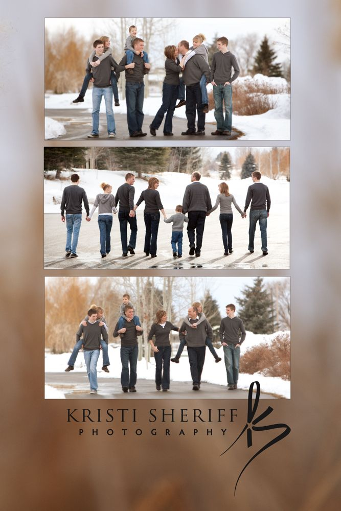 Kristi Sheriff Photography, Idaho Falls. Awesome winter family photo shoot.