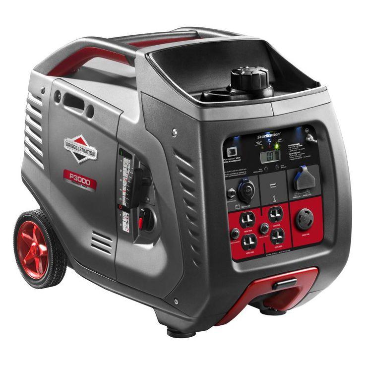 Briggs & Stratton PowerSmart Series Portable 3000-Watt Inverter Generator - 30545
