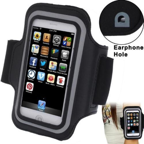 Sports Armband Case with Earphone Hole iPhone 5S & 5C