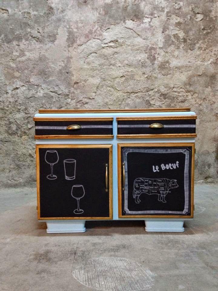 Angus atelier de relooking de meubles vintag - Relooking meuble vintage ...