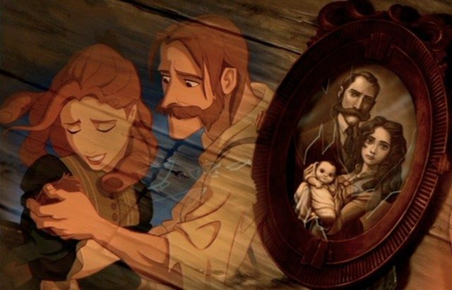 Disney family portraits are a stark reminder that favorite characters suffer abandonment and heartbreak at a very young age. Disney. Princess.