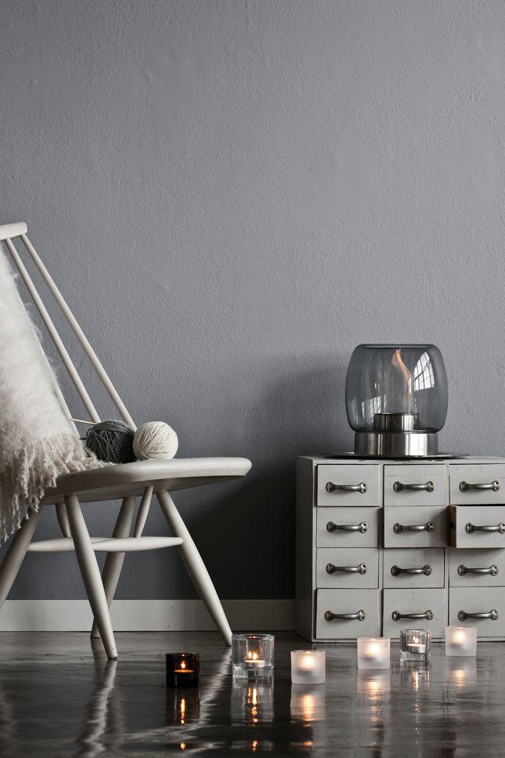De stijlvolle sfeerhaard van iittala kun je neerzetten waar je maar wil! #iittala #fireplace