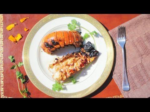 Was Edles auf dem Grill: Gegrillte Hummerschwänze Das Rezept gibts auf Allrecipes Deutschland: http://de.allrecipes.com/rezept/614/gegrillte-hummerschw-nze.aspx