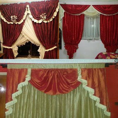 cortinaje drapeado