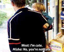 [GIF] Misha and West