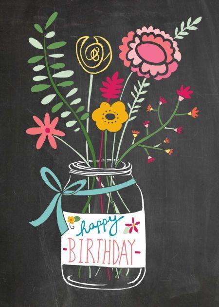 Felicity French - Felicity French jam jar flowers chalkboard.jpeg