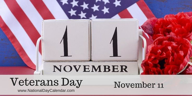 National Day Calendar Veterans Day Image Four