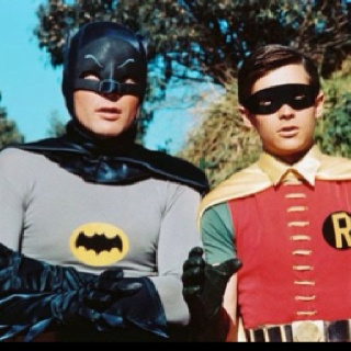 So, it was made in the 60s, but it was shown throughout the 70s. This Batman, Adam West is now the Mayor in Family Guy