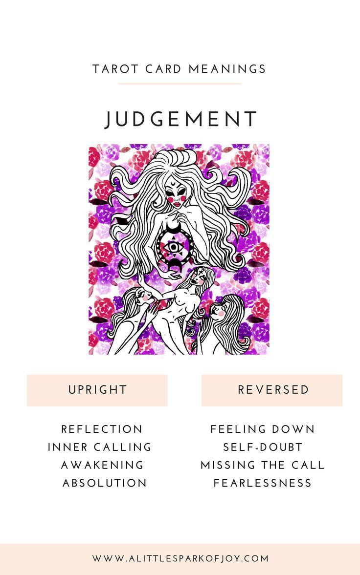 Judgement Tarot Meaning Judgement Tarot Card Tarot Cards Major Arcana Tarot Card Readers