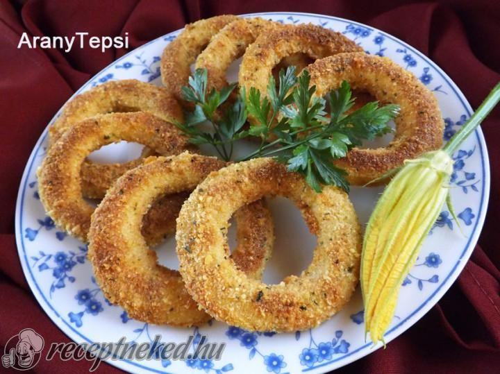 Parmezános rántott cukkini sütőben sütve   Receptneked.hu (olcso-receptek.hu)